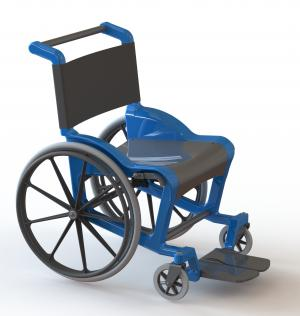 ZenCare Aquatic Wheelchair Thumbnail